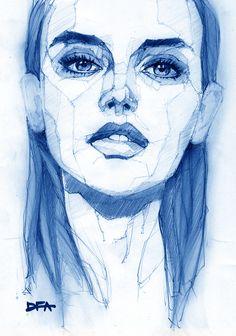 Portrait 37. #illustration #painting #drawing #pen #イラスト #sketch #art #pen #instadraw #artwork #絵 #fashionillustration #ファッションイラスト #illust #girl #fashionsketch #artstagram #sketchbook #落書き #doodle