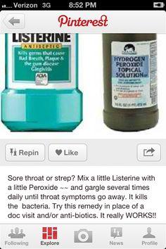Huh... Might be worth a shot to get rid of this dang sore throat..