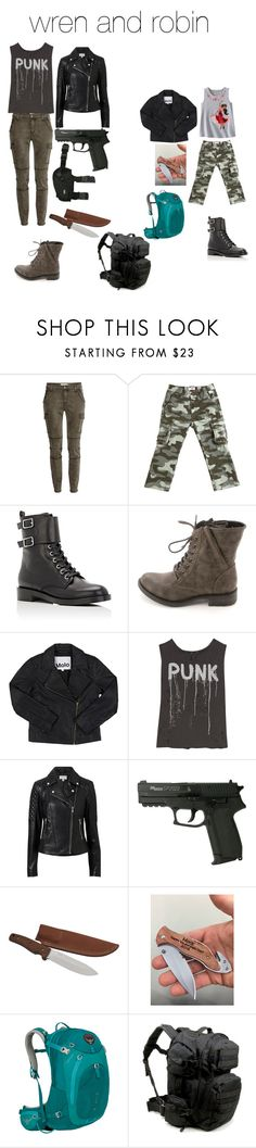 """""""h"""" by cindy-morton on Polyvore featuring Il Gufo, Gianvito Rossi, American Rag Cie, Disney, R13, Witchery and Osprey"""