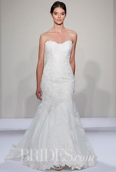 Brides: Dennis Basso for Kleinfeld Wedding Dresses - Fall 2016 - Bridal Runway Shows - Brides.com