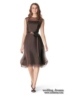 wedding party dress? Maybe a different color like olive green or a softer brown not sure, just tossing out ideas