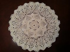 """This video is part one of how to crochet the Twisted Veins Doily Pattern. Feel free to share this video and Please click """"Subscribe"""" to get updates of new vi..."""