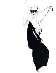 Tiffany & Co New York | David Downton #fashion #Illustration