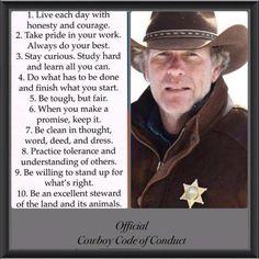 "Picture is of Sheriff Walt Longmire of the tv series ""Longmire""."