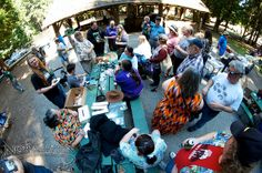 Fun, food, and socializing at the annual Norwescon Volunteer Appreciation Picnic.