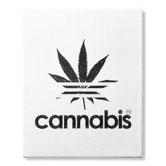 Awesome Tee Cannabis Wall Canvas Shirts & Tees