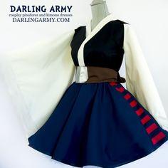 Han Solo Star Wars Cosplay Kimono Dress Wa Lolita Skirt Costume | Darling Army