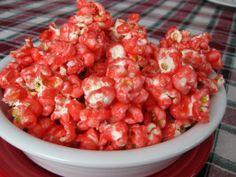 Cinnamon Candy Popcorn needs more coating