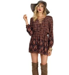 Rust Moonlight Tunic at WindsorStore