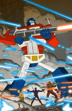 Transformers vs. G.I. Joe - Jim Rugg