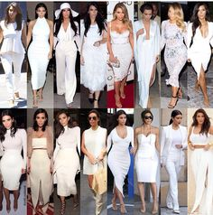 I LIVE for an all white outfit.