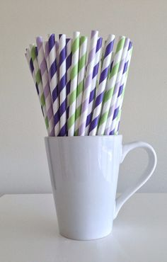 Paper Straws - 25 Teal / Aqua and Black and White Striped Party Straws Birthday Wedding Baby Shower Bridal Carolina Panthers NFL Playoffs by PuppyCatCrafts White Bridal Shower, Bridal Shower Rustic, Bridal Showers, Baby Showers, New Birthday Cake, Birthday Ideas, 13th Birthday, Happy Birthday, Mason Jar With Straw