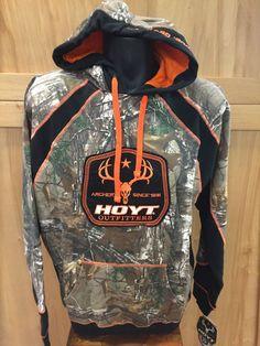 Hoyt Outfitter Hoody Men's Camo/Neon Orange 2015 Style