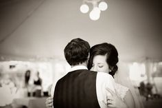 such a beautiful first dance shot. see more of this charming southern wedding here: http://www.mywedding.com/articles/hoke-and-jessis-romantic-vidalia-ga-wedding-by-bella-jay-photography/