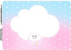 Uau! Veja o que temos para Marmitinha Grande Chuva de Amor E Frame, Cloud 9, 2nd Birthday, Scrapbook Paper, Decoupage, Hello Kitty, Clip Art, Kawaii, Baby Shower