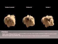 Hair Dynamics Settings - Blender Tutorial