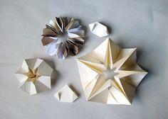 Anna Mavromatis: Artists' Books: folded paper forms...
