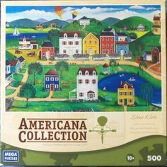Americana Collection MEGA Puzzle BALLOON OVER THE CITY 2011 COMPLETE Steve Klein in Toys & Hobbies, Puzzles, Contemporary Puzzles | eBay