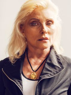 Debbie Harry best known as the singer for the iconic band Blondie by Christopher Anderson, NYC, 2014
