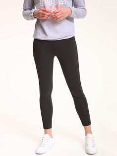 Top Secret Legíny dámské šedé Top Secret, Black Jeans, Sweatpants, Fashion, Moda, Fashion Styles, Black Denim Jeans, Fashion Illustrations