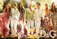 The Dolce & Gabbana SS 2011 Ads Boast Fabulous Flower Power #photoshoots #fashion trendhunter.com