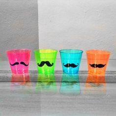 Mustache shot