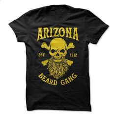 ARIZONA BEARD GANG - #full zip hoodie #online tshirt design. PURCHASE NOW => https://www.sunfrog.com/LifeStyle/ARIZONA-BEARD-GANG.html?60505