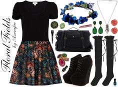 Crafty Lady Abby - FASHION TRENDS: Floral Fields