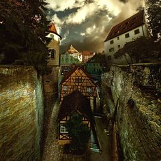 Bavarian back streets