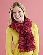 Image of Two Ball Twirly Scarf