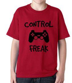 Video Games: Control Freak Tee