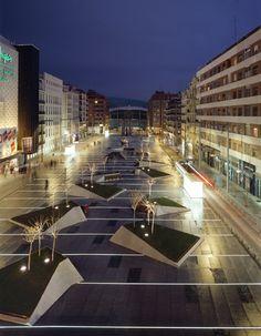 Francisco Mangado - Avenida de Felipe II - Plaza de Dalí, Madrid