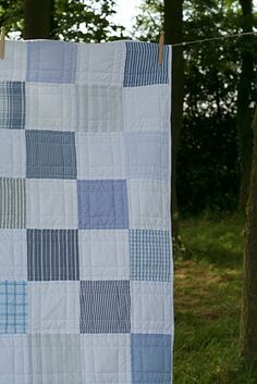 old shirts quilt   Flickr - Photo Sharing!