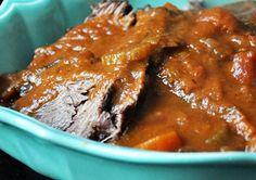 Pot Roast -- Enjoy it, slow cook it! -- Crock Pot Seasonings - crockpotseasonings.com - #crockpot #recipes