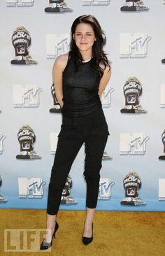 Kristen Stewart.  #fashion  #style  #blackandwhite