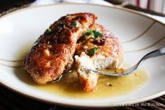Julia Child's Parmesan Chicken with Brown Butter Sauce  Recipe by Julia Child's Mastering the Art of French Cooking cookbook