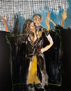 Privacy, Oil on Canvas X Michael Hafftka Modern Contemporary, Oil On Canvas, Paintings, Couple, Art, Paint, Painting Art, Painting, Painted Canvas