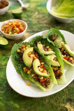 walnut and lentil tacos