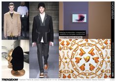 #Trendzine A/W 17-18 trends on #WeConnectFashion - Men's inspiration - Interfusion mood