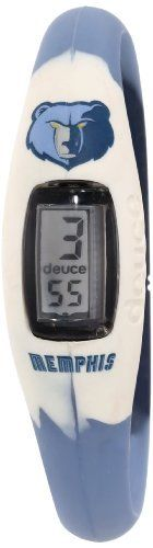 Deuce Brand DBNBAMEML NBA Memphis Grizzlies Sports Watch Deuce Brand. $30.00. The sports watch that you can wear 24/7 to support your favorite nba team. Time & date functionality. Made of 100% surgical grade silicon. Collectors edition packaging. Officially licensed nba product