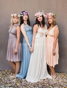 bridesmaid dresses I love these