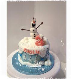 Il simpatico Olaf per la piccola Giulia by smoothly