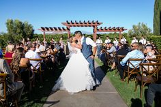 Vineyard View Ceremony At Wiens Family Cellars Winery In Temecula Http Www