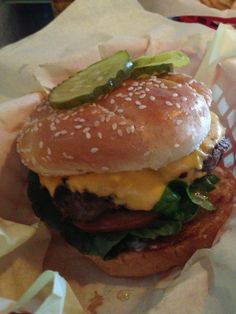 Rocky's also lands on many 'Top Burger' lists. Located in the heart of San Diego's beach/bay area.