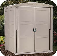 blooma 6 x 4 brown plastic shed home delivered 5397007006261 landscaping pinterest gardens wooden sheds and home