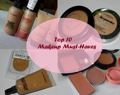 10 Makeup Products You Must Have #bblogger