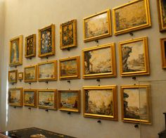 Yup..... all these are made from stone! Mind boggling. Opificio delle Pietre Dure - Florence
