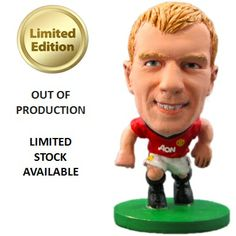 SoccerStarz Manchester United F.C. Paul Scholes - Rs. 499 Official #Football #Figurines from leading clubs across Europe.