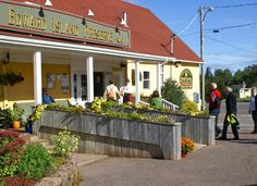 Prince Edward Island Preserve Company. Located between Charlottetown and Cavendish, the big yellow Preserve Company has been a staple tourist destination for decades – but don't dismiss it as a tourist trap. The riverside restaurant and preserve shop has been serving up traditional PEI breakfasts, lunches and suppers for decades, and has a steady following among locals. Must-try: Preserve Company Potato Pie, $12.99. 2841 New Glasgow Road, New Glasgow, PEI. Canada Cruise, Canada Trip, Canada Travel, East Coast Road Trip, East Coast Travel, Eastern Travel, Riverside Restaurant, Pei Canada, Prince Edward Island
