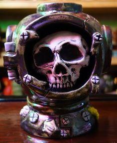 Wendy Cevola Custom Diver Down Mug - Ooga-Mooga! Tiki Mugs & More